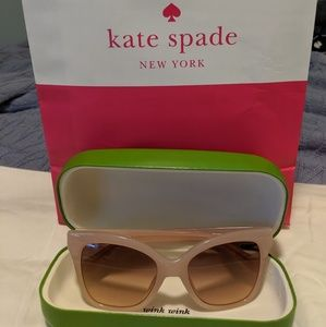 Kate Spade Sunglasses (Pink)
